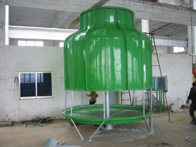 玻璃钢机械通风冷却塔